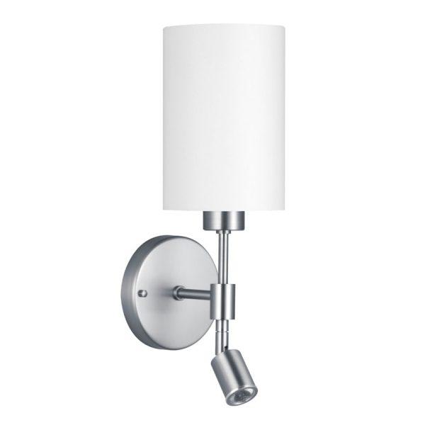 Wandlamp Brea met led leeslamp