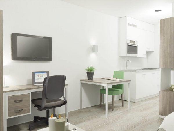 Budget hotelkamer