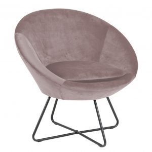 Center resting chair dusty rose 18