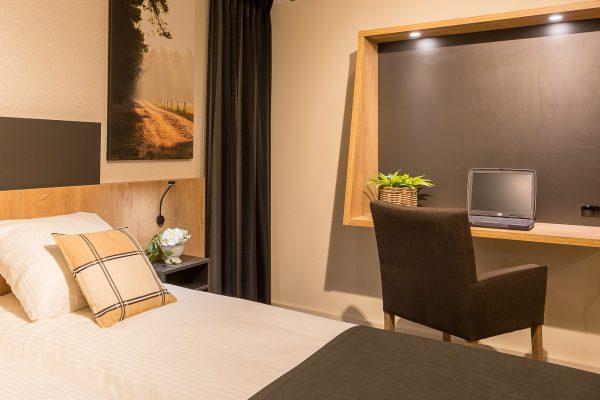 Hotelkamer Cosmo