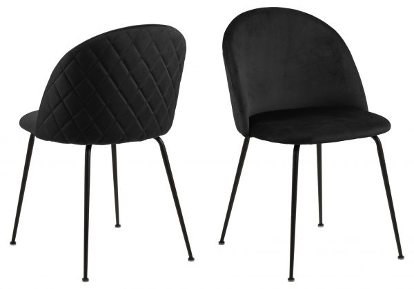 LLouise dining chair Dublin black 50