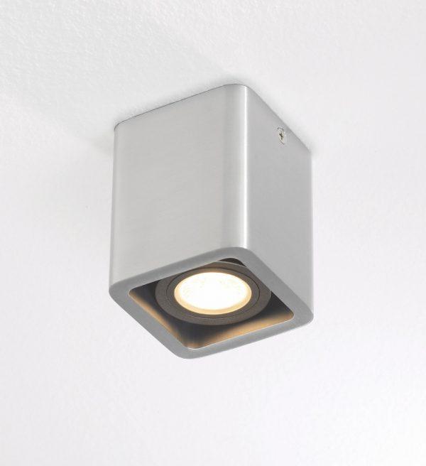 Plafondlamp Bronz 1 alu