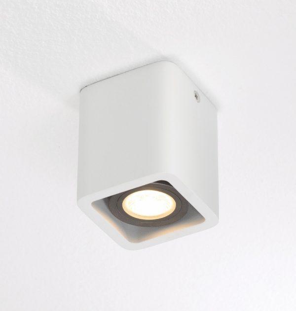 Plafondlamp Bronz 1 wit