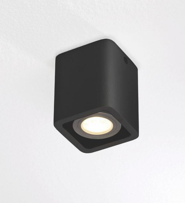 Plafondlamp Bronz 1 zwart