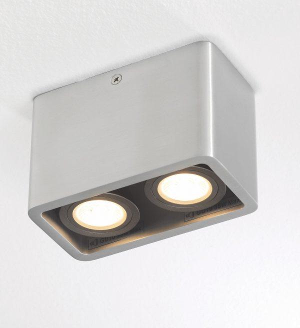 Plafondlamp Bronz 2 alu