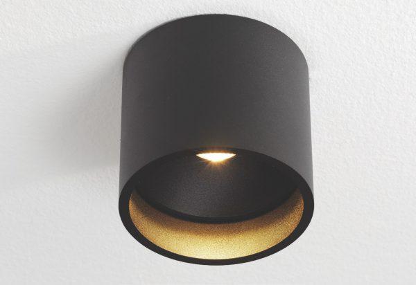 Plafondlamp Orleans zwart