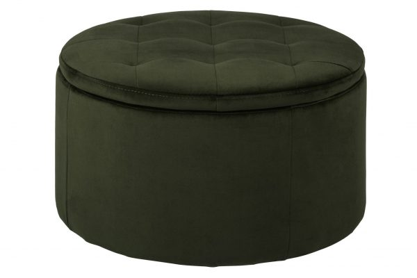 Retina Ottoman Forrest green 68