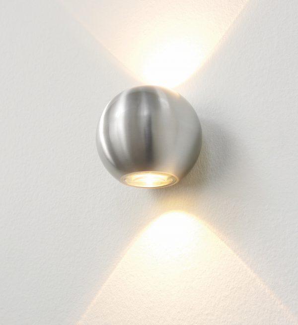 Wandlamp Denver alu