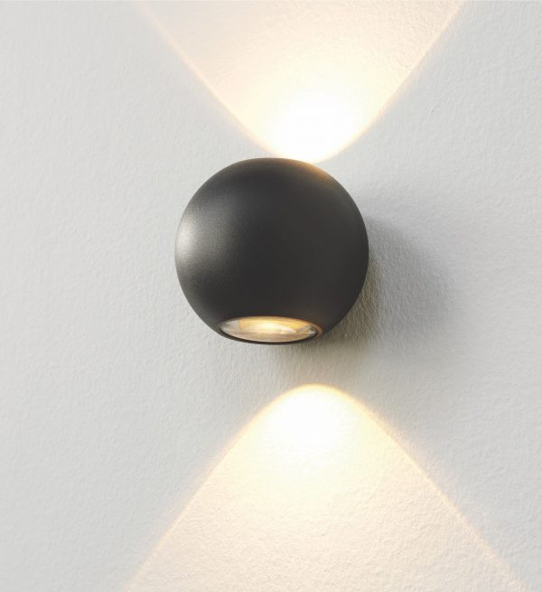 Wandlamp Denver zwart