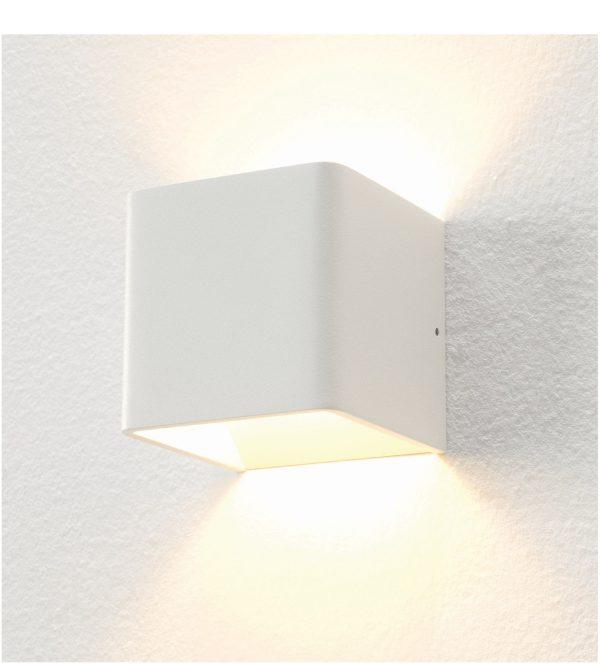 Wandlamp Fulda wit