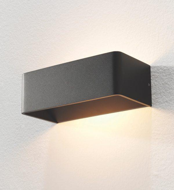 Wandlamp Mainz zwart
