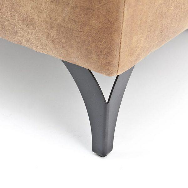 hoekpoot metaal open