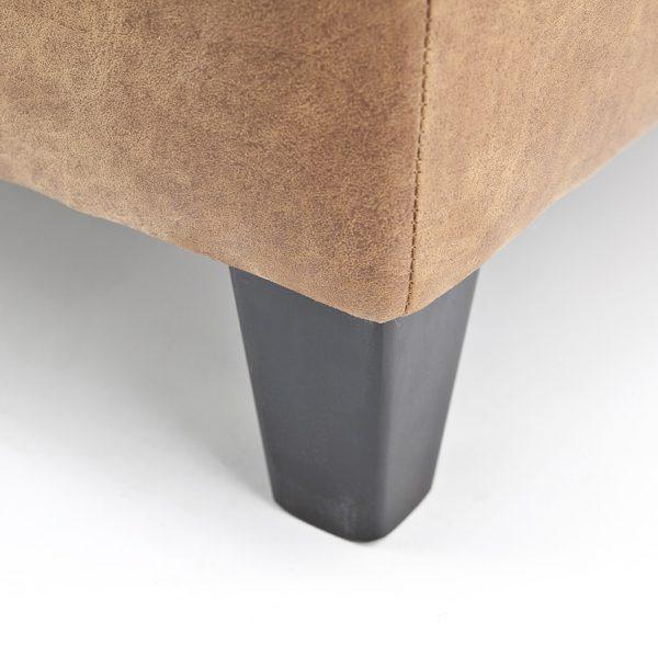 taps vierkant hout zwart
