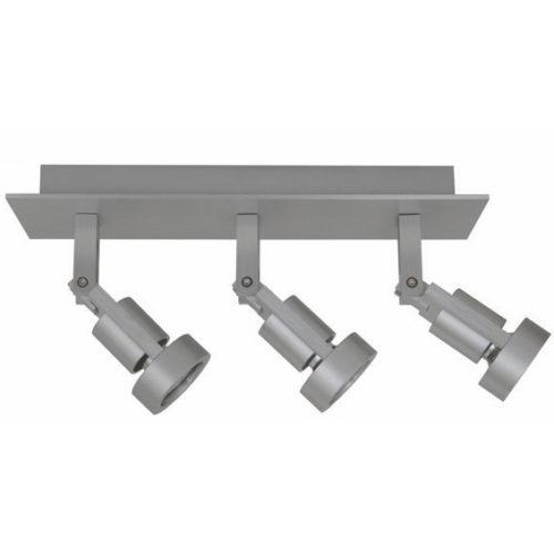 Plafondlamp Tech 3 aluminium