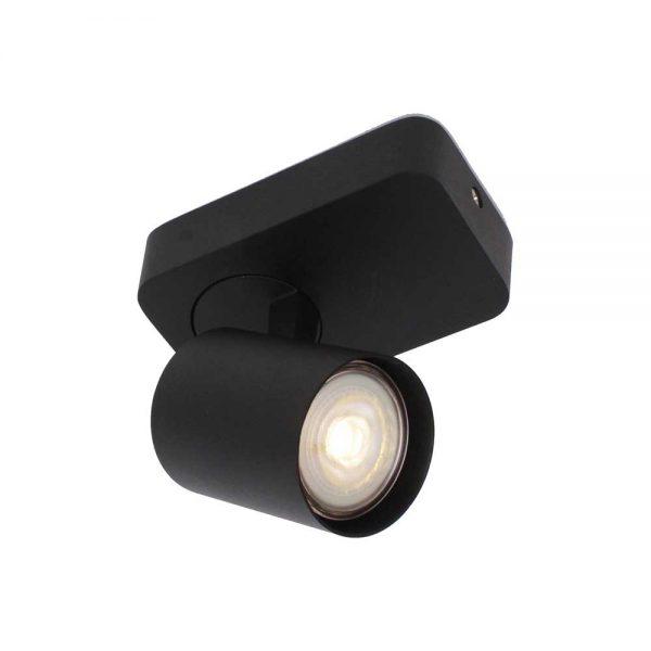 Plafondlamp Vivaro 1 zwart