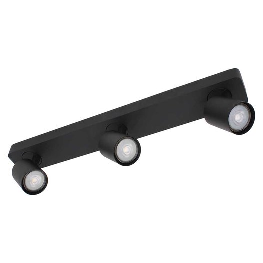 Plafondlamp Vovaro 3 zwart